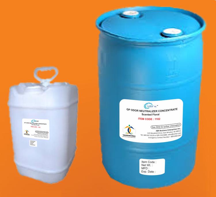 Gp odor neutralizer concentrate scented floral odornet for Fish odor urine