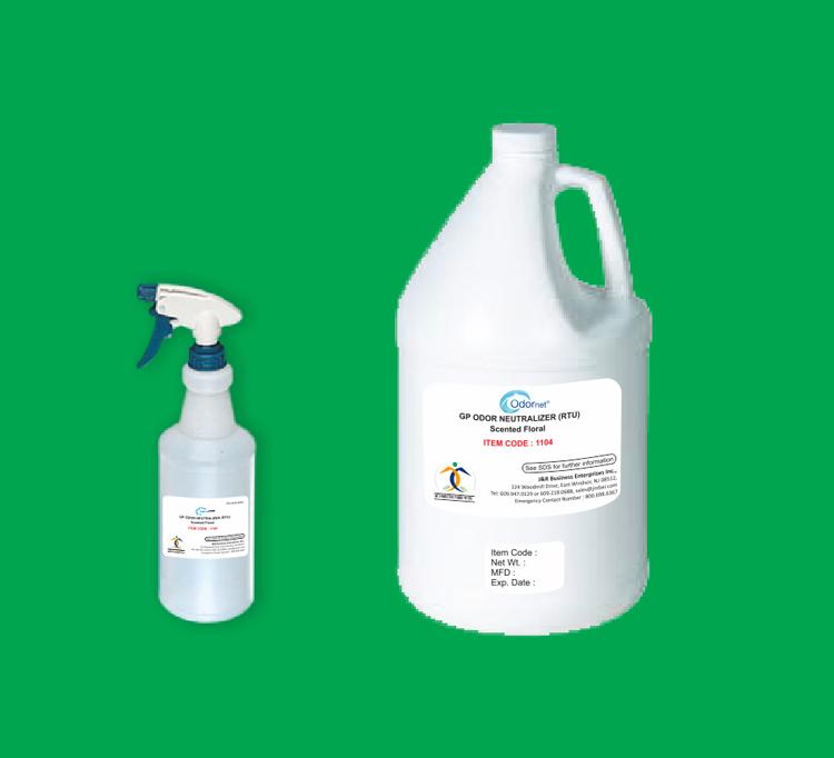 Gp odor neutralizer rtu scented floral odornet for Fish odor urine