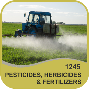 ODOR NEUTRALIZERS FOR USE WITH PESTICIDES, HERBICIDES & FERTILIZERS